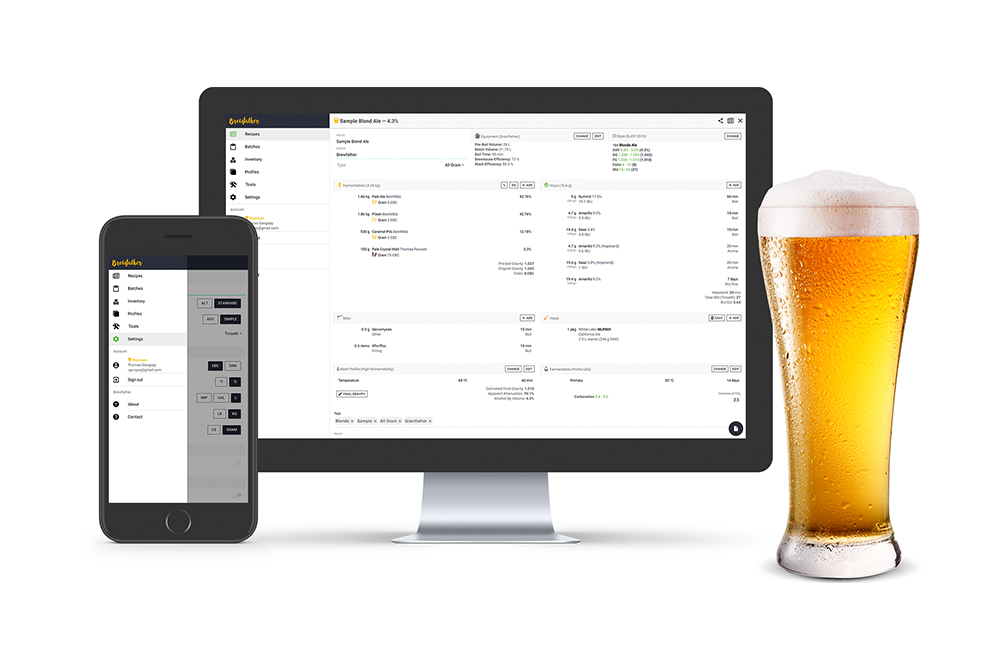 brewfather is one of the best homebrewing apps