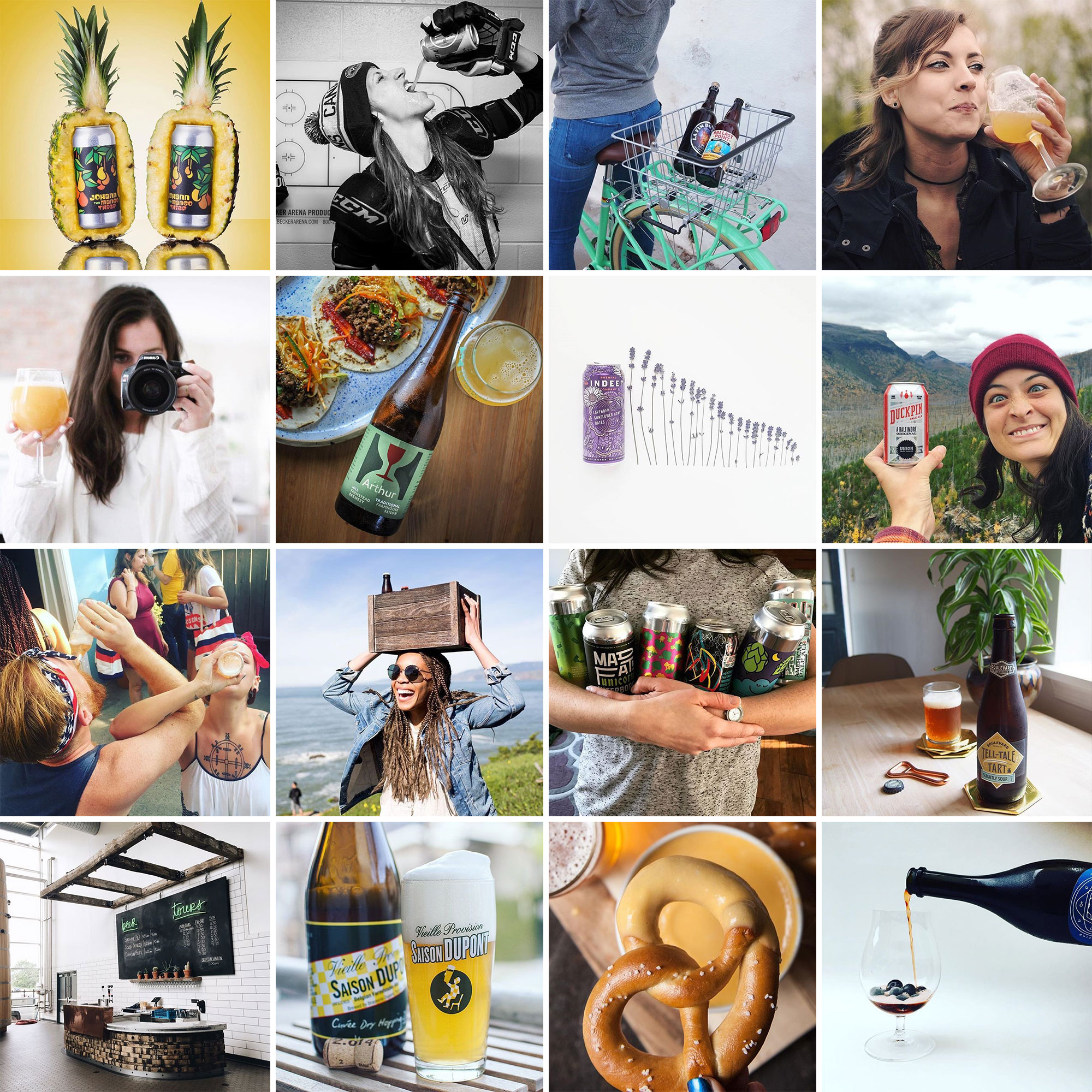18 of the Best Female Beer Lovers on Instagram