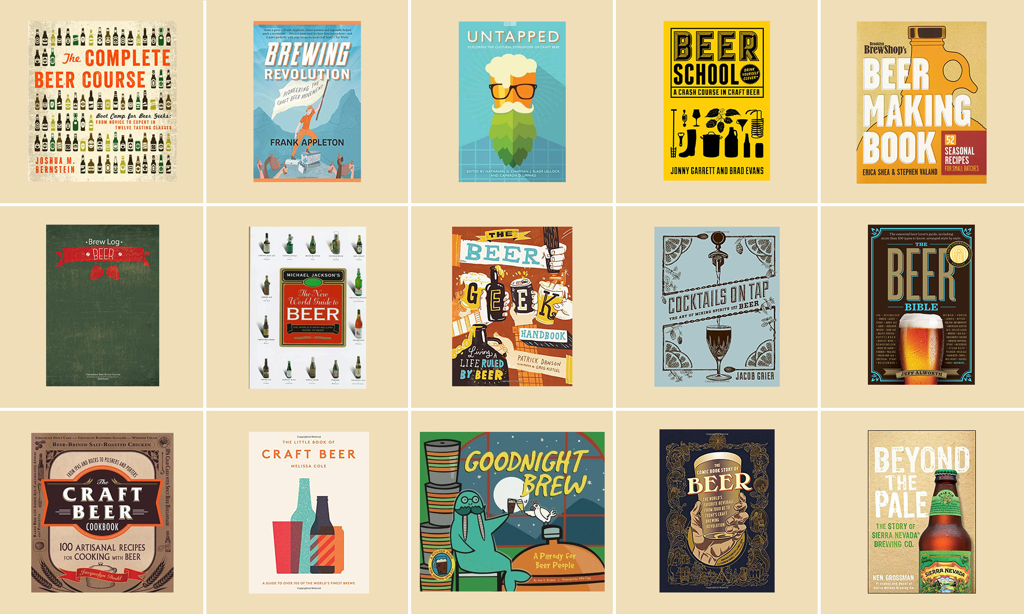 We Rounded Up The 15 Best Beer Books