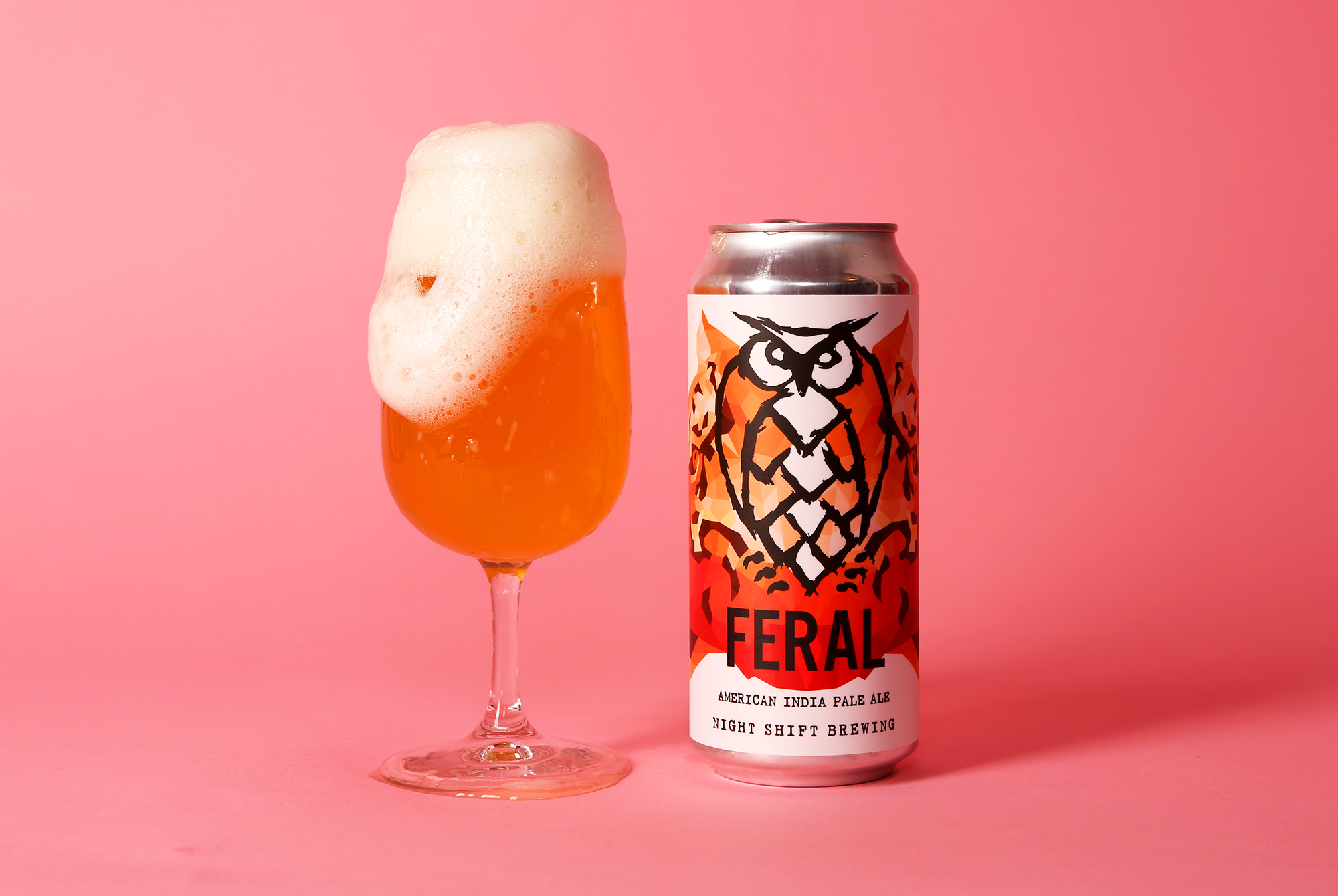Feral IPA from Night Shift, one of the best breweries in Boston