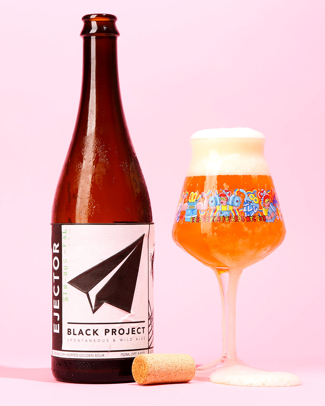 a sour beer from Black Project, one of the best breweries in Denver, Colorado