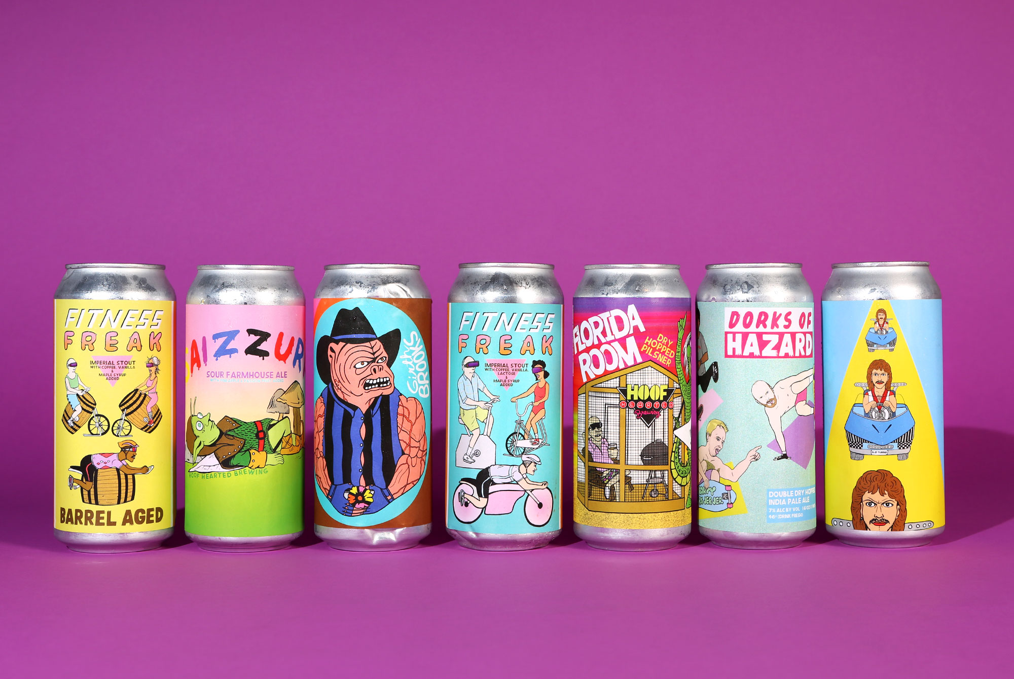 8 Questions with Thom Lessner, the Wizard Behind Hoof Hearted's Can Designs