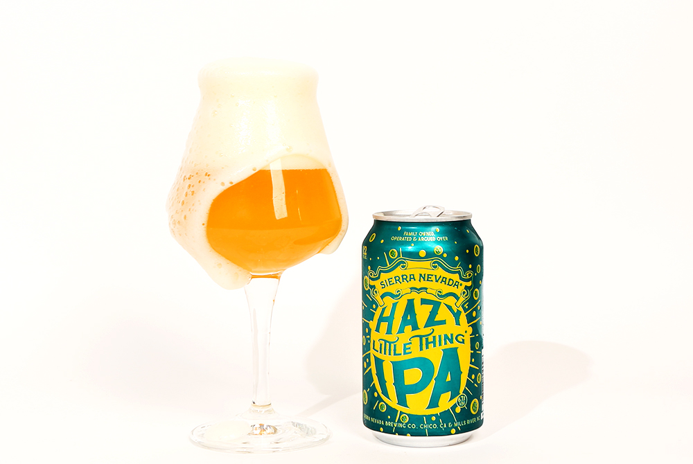 sierra nevada hazy little thing over pour