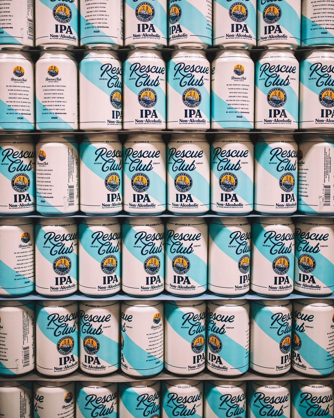 rescue club brewing ipa cans