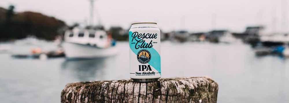 rescue club non-alcoholic beer